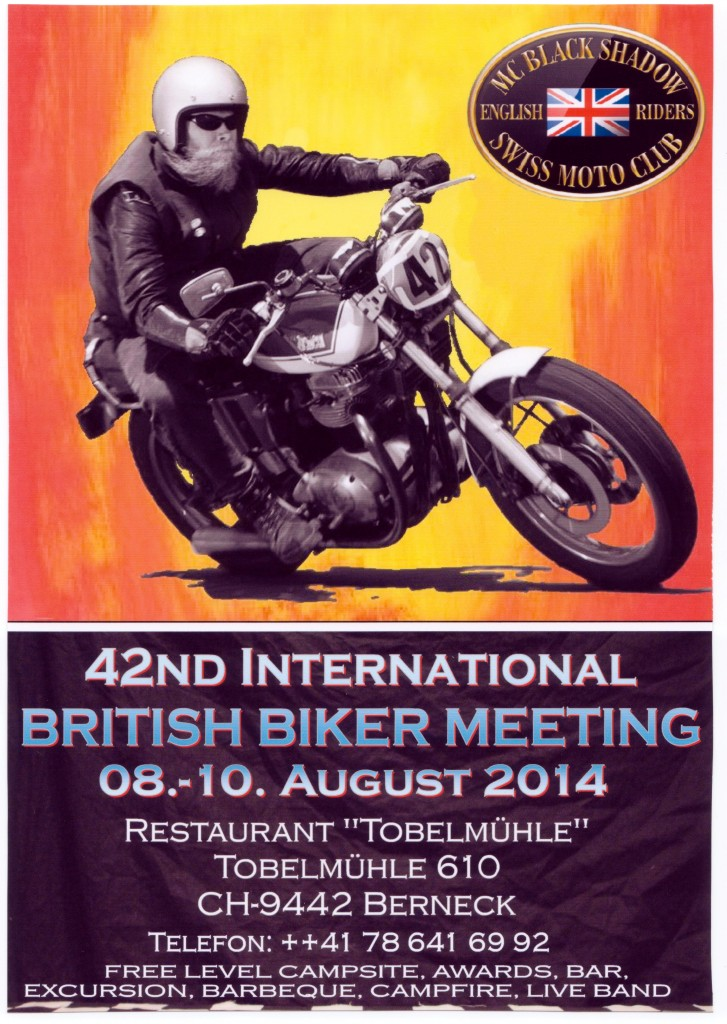 42nd international British Biker Meeting