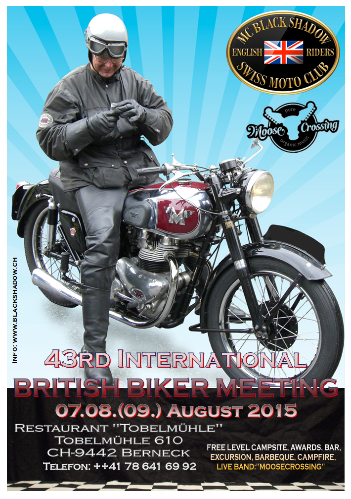 British Biker Meeting 2015