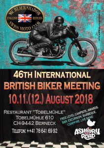 46th British Biker Meeting